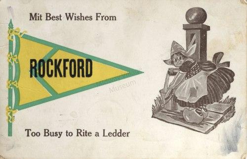 1913 Rockford Postcard